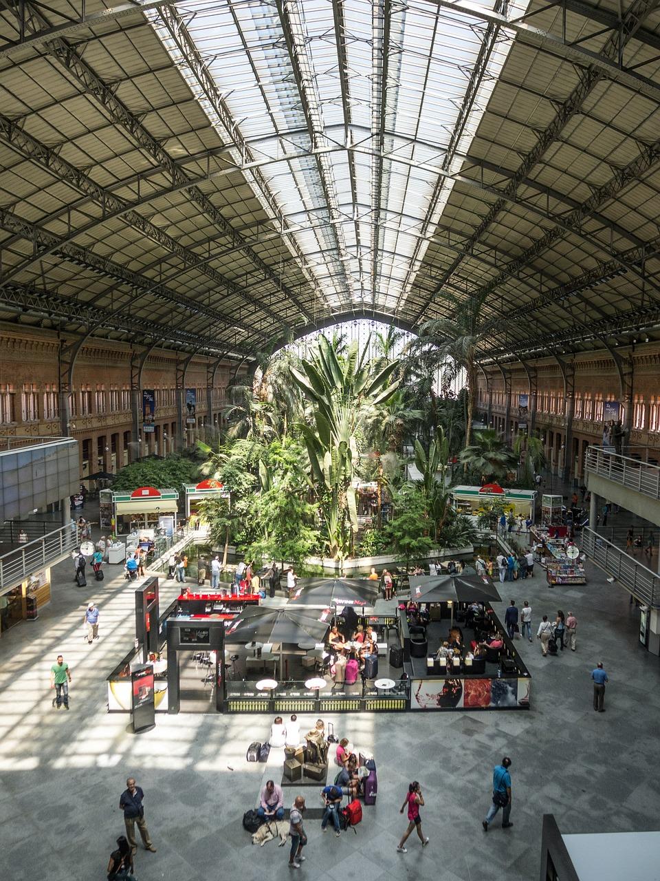 Estación de tren Madrid Atocha