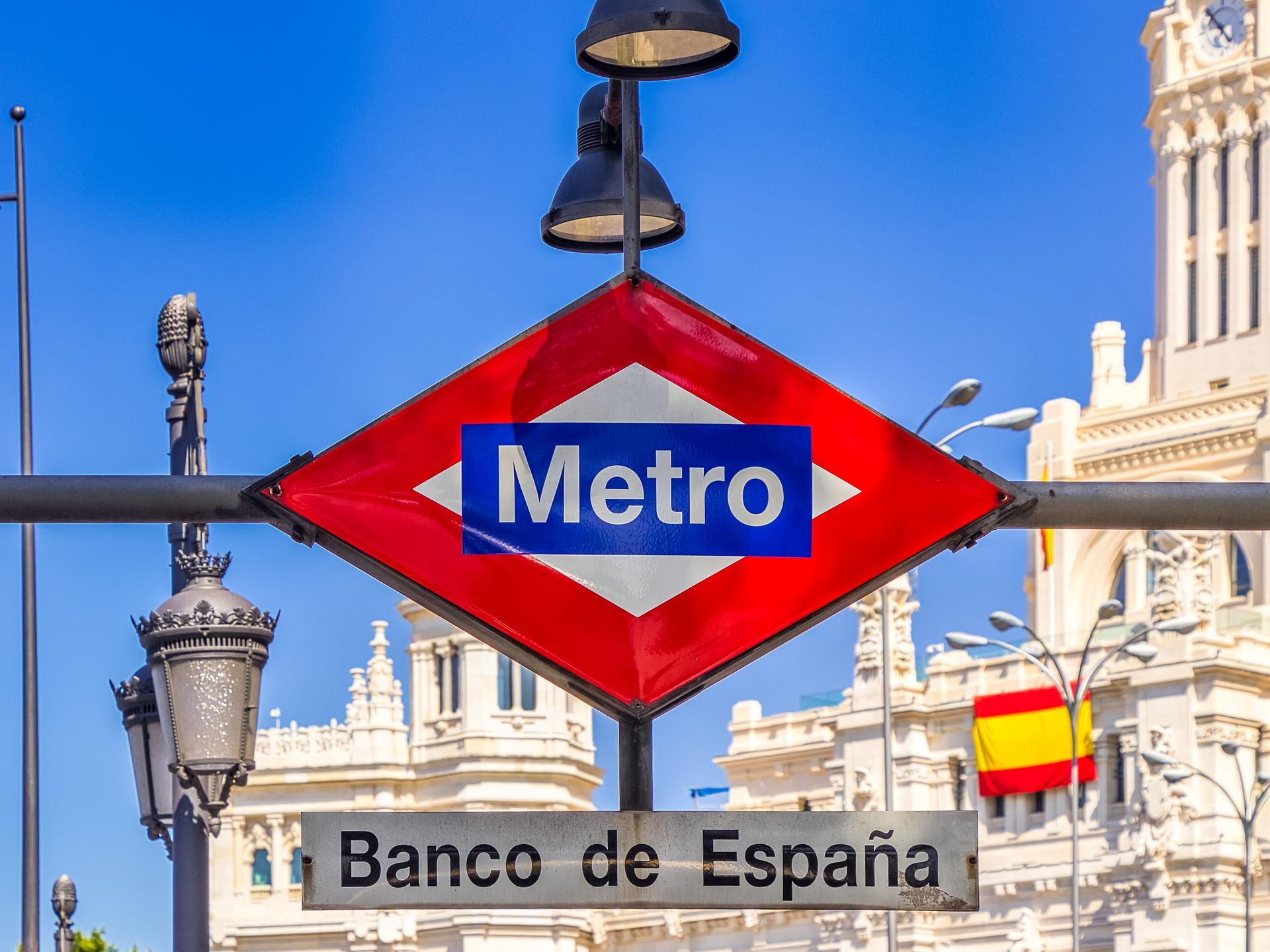 Metro de Madrid Estación Banco de España