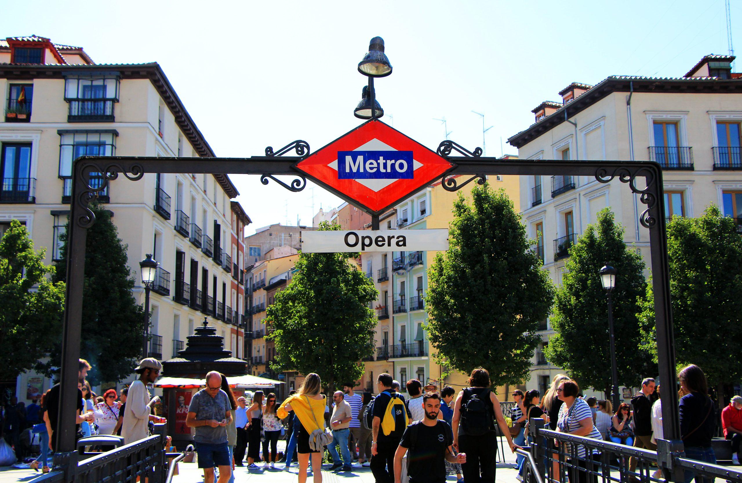 Metro de Madrid Estación Opera